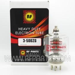 3-500ZG/3-500Z RF Parts Transmitting Tube, One Year Warranty