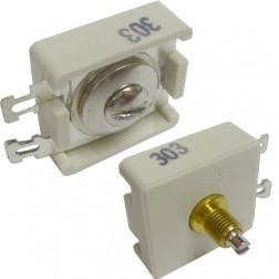303    Trimmer Capacitor, compression mica, 65-340 pf