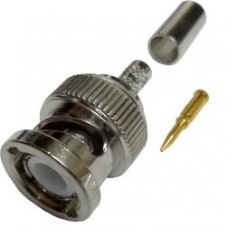 31-320-RFX Amphenol BNC Male Straight Crimp Connector
