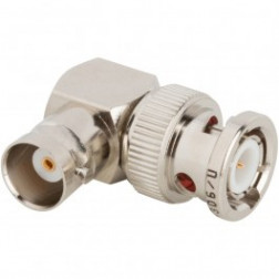 31-9 BNC In-Series Adapter, Right Angle BNC Male to Female, Amphenol
