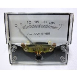32889 Panel meter, 0-30 amperes, Shielded design, Yokogawa Corp of America