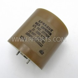 380MB103X2502S2 Sprague Transmitting Mica Capacitor (Pull))