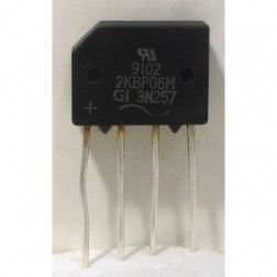 3N257 Rectifier, 2a 600v, General Instrument