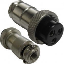 3PINMICPLUG-B  3 pin mic plug