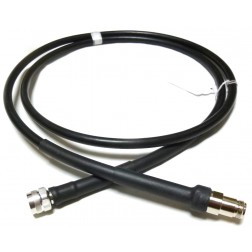 LMR400UF Cable Assembly, 6' with Times Type-N Male & Female Connectors (L400UFNMNF-6T)