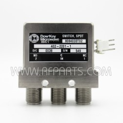 402-2201-1 Dow-Key SPDT Failsafe Switch Type N Female (Pull)