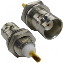 4160 - BNC Female Bulkhead Connector,  ITTP / Pomona