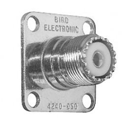 4240-050 Bird UHF Female QC connector