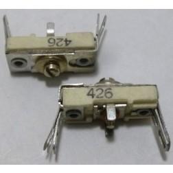 426 Trimmer, compression mica, 55-250 pF
