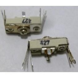 427 Trimmer, compression mica, 75-300 pF