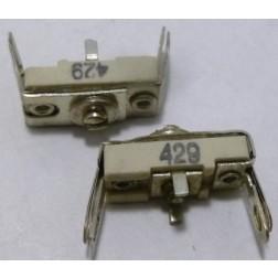 429 Trimmer, compression mica, 115- 400 pF