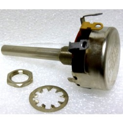 43C1-500 Potentiometer, 500 ohm, 2 watt, Long Shaft, Clarostat
