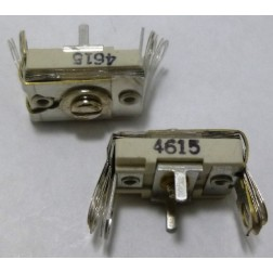 4615 Trimmer, compression mica, 420-1400 pF