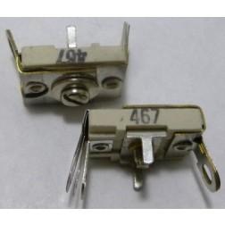 467 Trimmer, Compression Mica, 140-580 pF, Arco