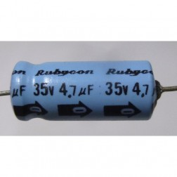 4.7-35A  Electrolytic Capacitor, 4.7uf 35v Axial Lead