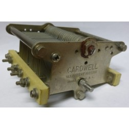 47-887 Cardwell Low Friction Shaft Variable Capacitor, 22-430, 25-457 uf