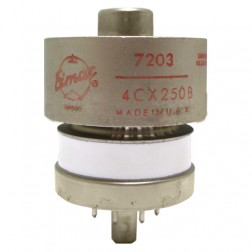 4CX250B-NOS Transmitting Tube, 7203/4CX250B, Eimac, (NOS)