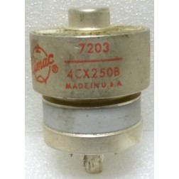 4CX250B-EI-P Transmitting Tube, 7203 / 4CX250B, Eimac, (clean pullout)