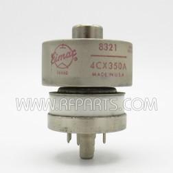 4CX350A Eimac Transmitting Tube 8321/4CX350A (NOS)
