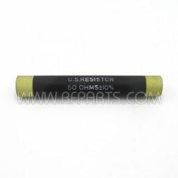 50 Ohm +/-10% U.S. Resistor (NOS)