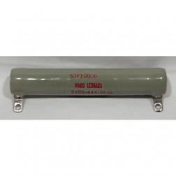50F10000  Wirewound Resistor, 10k ohms 50 watts. Ward Leonard