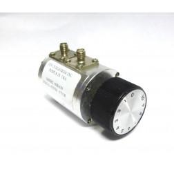 50R-019-SMA  Rotary Attenuator, 0-10dB -1dB steps, DC-2200 MHz, 2 Watt, SMA Female Connectors, JFW (Used Condtion)
