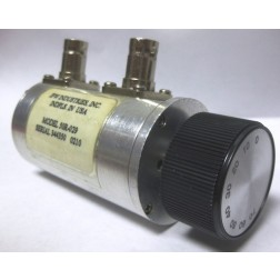 50R-029  Attenuator, Rotary, 0-70dB, 10dB steps, DC-2200 MHz, 2 Watt, BNC Female, JFW (Clean Used)