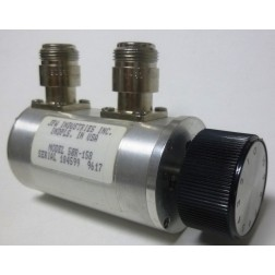 50R-158  Attenuator, Rotary, 0-10dB, 2 watt, Type-N Female, DC-2000 MHz, JFW