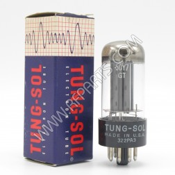 50Y7GT Tung-Sol Twin Diode Power Rectifier Tube