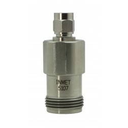 5107 Between Series Precision Adapter, SMA Male to Type-N Female, API/Inmet