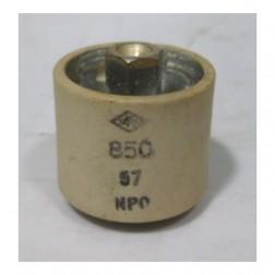 580057-5P Doorknob Capacitor, 57pf 5kv Clean pullout