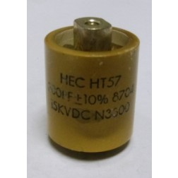 570300-15P Doorknob Capacitor, 300pf 15kv, High Energy (Clean Pullout)