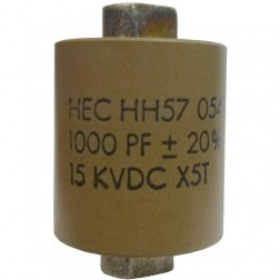 571000-15  High Energy Doorknob Capacitor 1000pf, 15kv, 20% (HH57Y102MA)