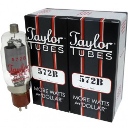 572B Taylor Tubes, Matched Pair (2)