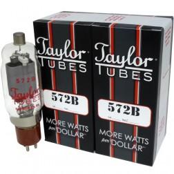 Transmitting tube, Matched Set of 2, Taylor Tubes (90 Day Warranty) (572B)