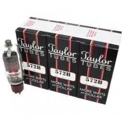 Transmitting Tube, Matched Set of 3, Taylor Tubes (90 Day Warranty) (572B)