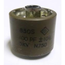 580100-5 Doorknob Capacitor, NOS, Centralab