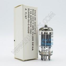 5814 Philips/ECG Medium-Mu Double Triode Tube (NOS/NIB)