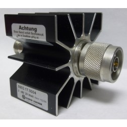 5903.17.0004  Attenuator, Type-N, Fixed, 25 watt, 3dB, Huber Suhner