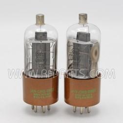 5933 / 807 JAN-CHS Sylvania Beam Power Tetrode Matched Pair (2).