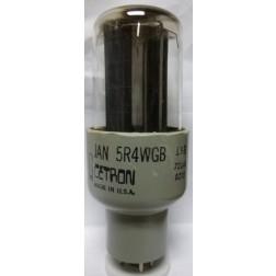 5R4WGB Tube, Full Wave High-Vacuum Rectifier, JAN/CETRON