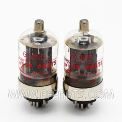 6146B RF Parts Company Beam Power Amplifier Transmitting Tube, Matched Pair (2) NEW