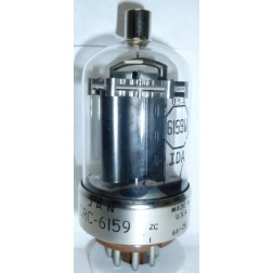 6159W Transmitting Tube,  Beam Power Amplfier, Mfg JAN/RCA (CRC-6159/6159W)