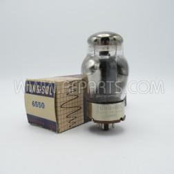 6550 Tung-Sol Vintage Beam Power Amplifier/Audio Tube (NOS/NIB)