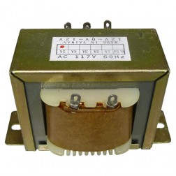 671245  Low voltage transformer, 117VAC/60cps 24vct, 2.5 amp, (67-1245) CES