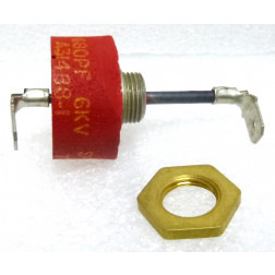 680PF-6KV Capacitor, Feedthru, 680pf, 6kv, Mfg: Sprague