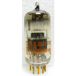 6922-RCA-GOLD  Audio Tube, 6922 /E88CC, Gold Pin, RCA USA