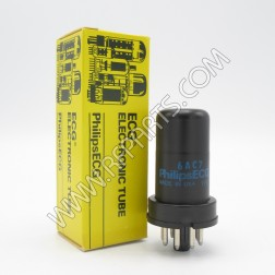 6AC7 GE, ECG, RCA, Raytheon RF Amplifier Pentode (NOS/NIB)
