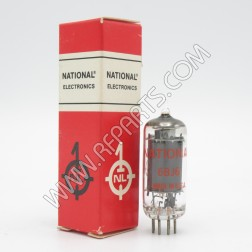 6662/6BJ6 National, RCA Miniature Pentode Tube (NOS/NIB)