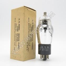 6C8G/VT-163 RCA Dual Triode Tube (NOS/NIB)